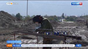На автодороге Октябрьское – Тарское продолжается реконструкция мостовых переходов