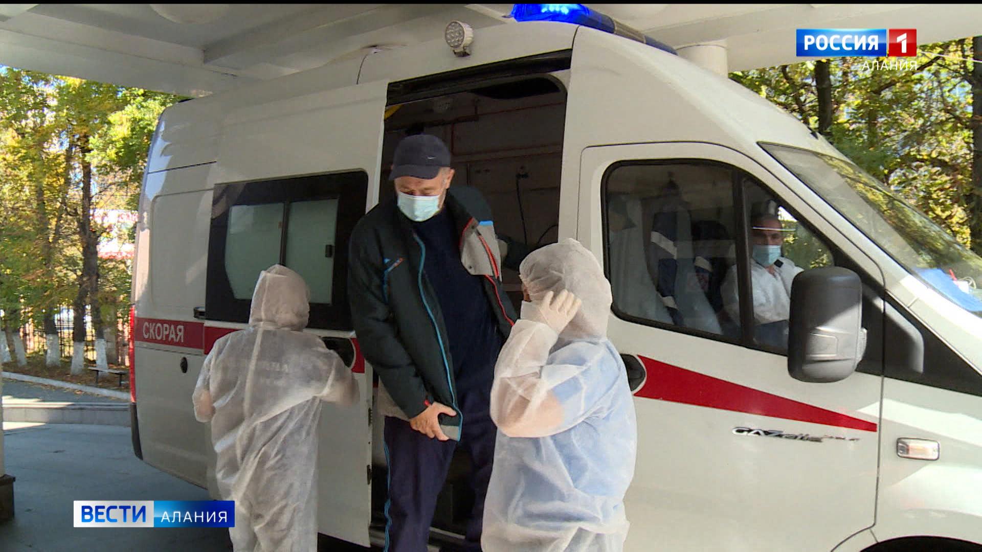 За сутки в ковид-стационары Северной Осетии госпитализировали более 140 человек, 77 — в реанимации