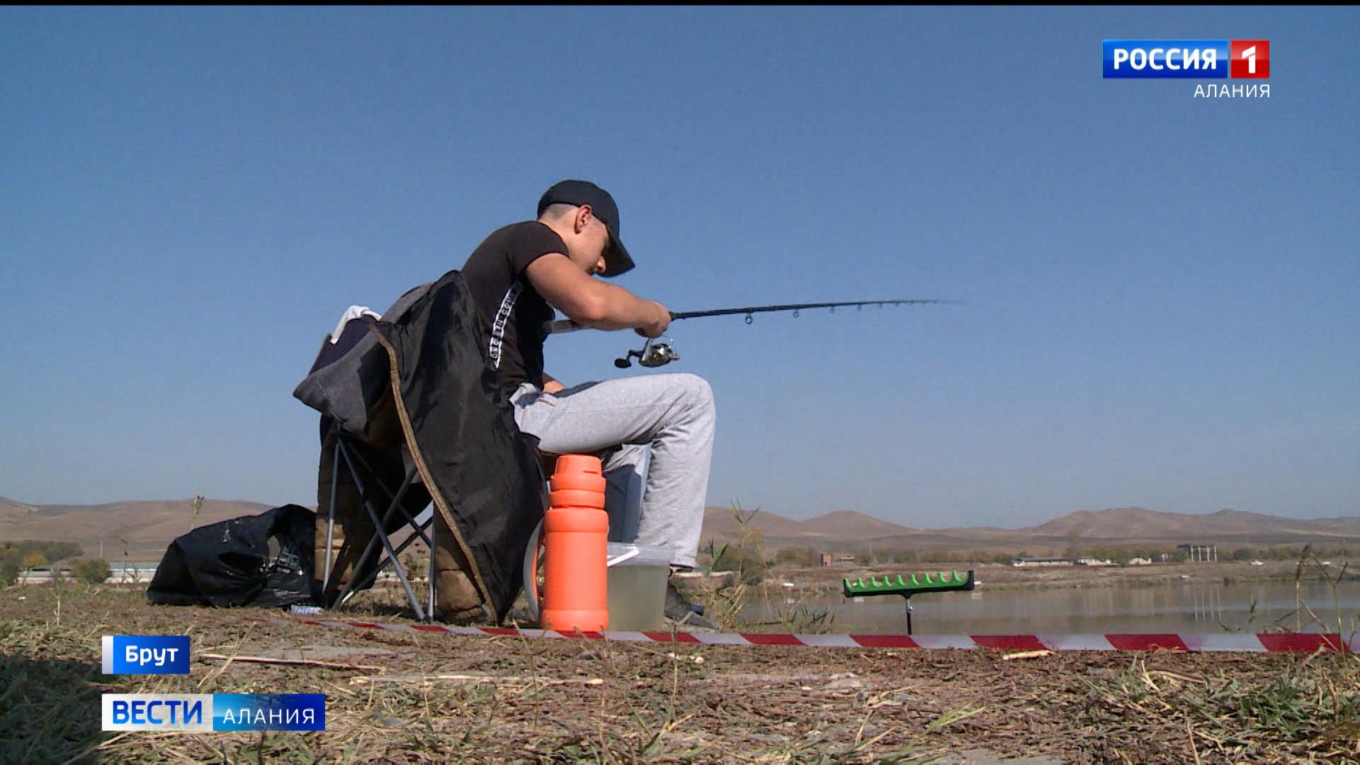 В селении Брут прошел чемпионат по спортивной рыбалке