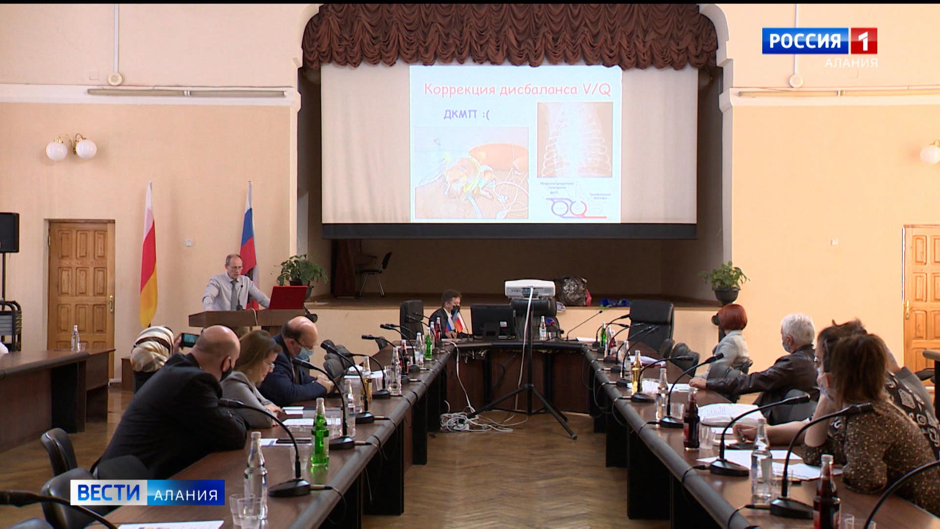 На международном семинаре в СОГМА обсудили методику лечения реанимационных больных с коронавирусом