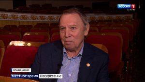 Худрук Русского театра Владимир Уваров отметил 70-летний юбилей