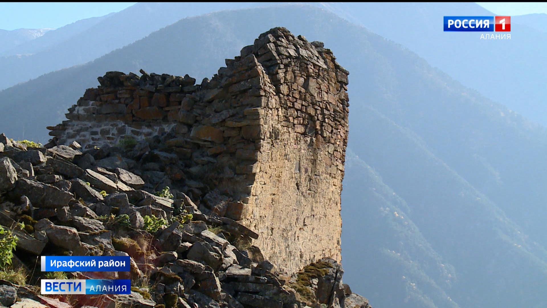 В Дигорском ущелье началась реставрация крепости Багайта