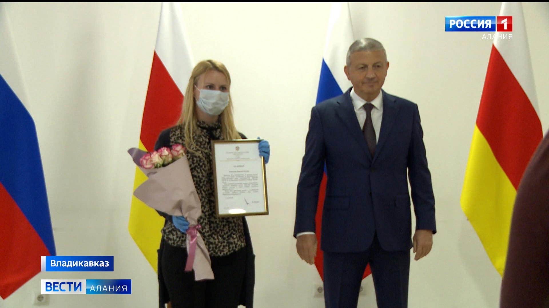 Вячеслав Битаров вручил Благодарственные письма журналистам, работавшим в период пандемии