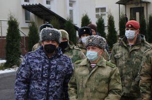 Во Владикавказ с рабочим визитом прибыл командующий Северо-Кавказским округом Росгвардии