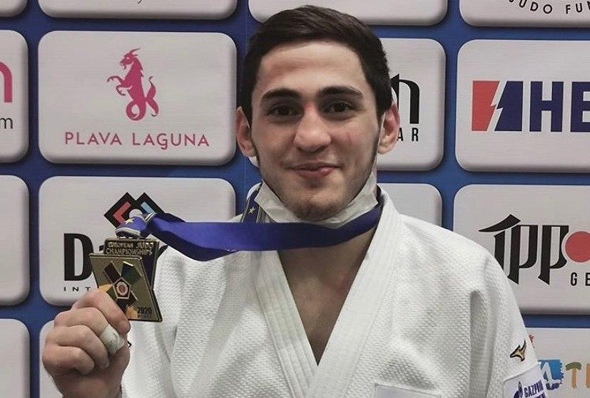 Хетаг Басаев стал победителем первенства Европы по дзюдо