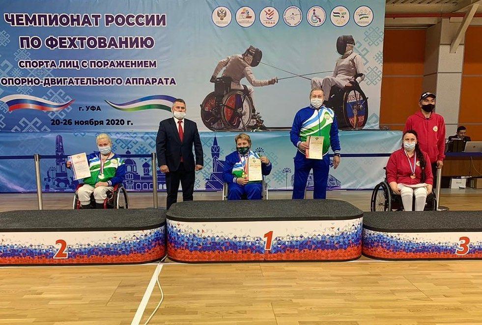 Альбина Качмазова и Алина Малдзигова стали призерами чемпионата России по фехтованию лиц с ПОДА