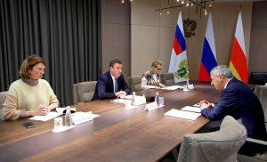 Вячеслав Битаров и Дмитрий Патрушев обсудили перспективы развития АПК региона