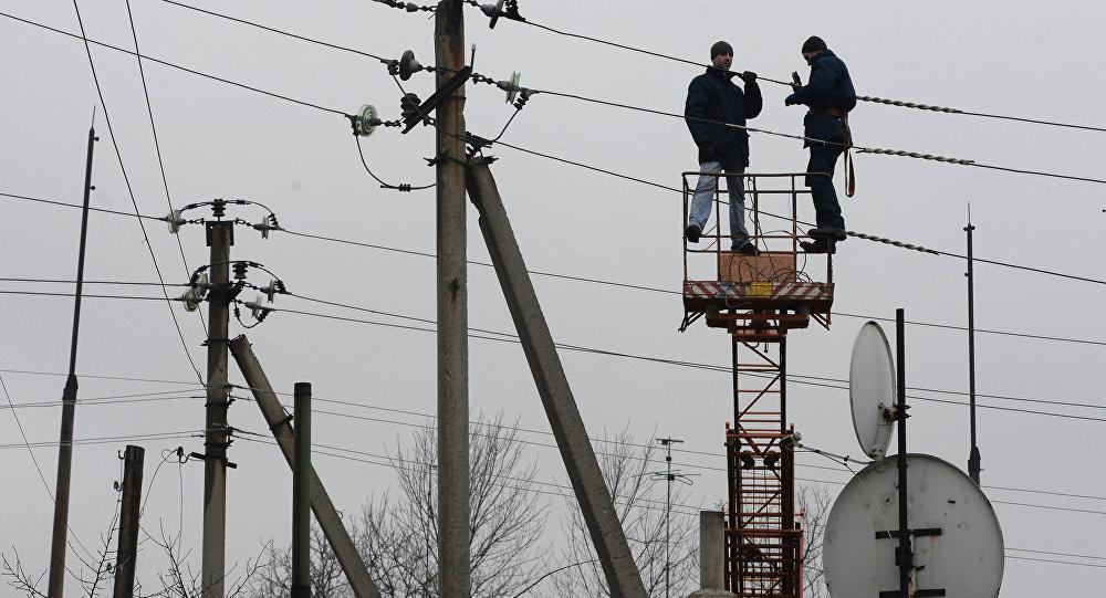 Южная Осетия осталась без электричества из-за плановых работ на ЛЭП