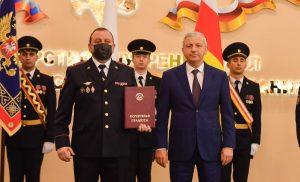 Во Владикавказе чествовали сотрудников органов внутренних дел республики