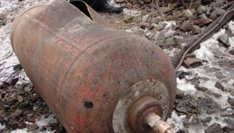 При взрыве баллона с кислородом на стройке в с. Цалык пострадал рабочий