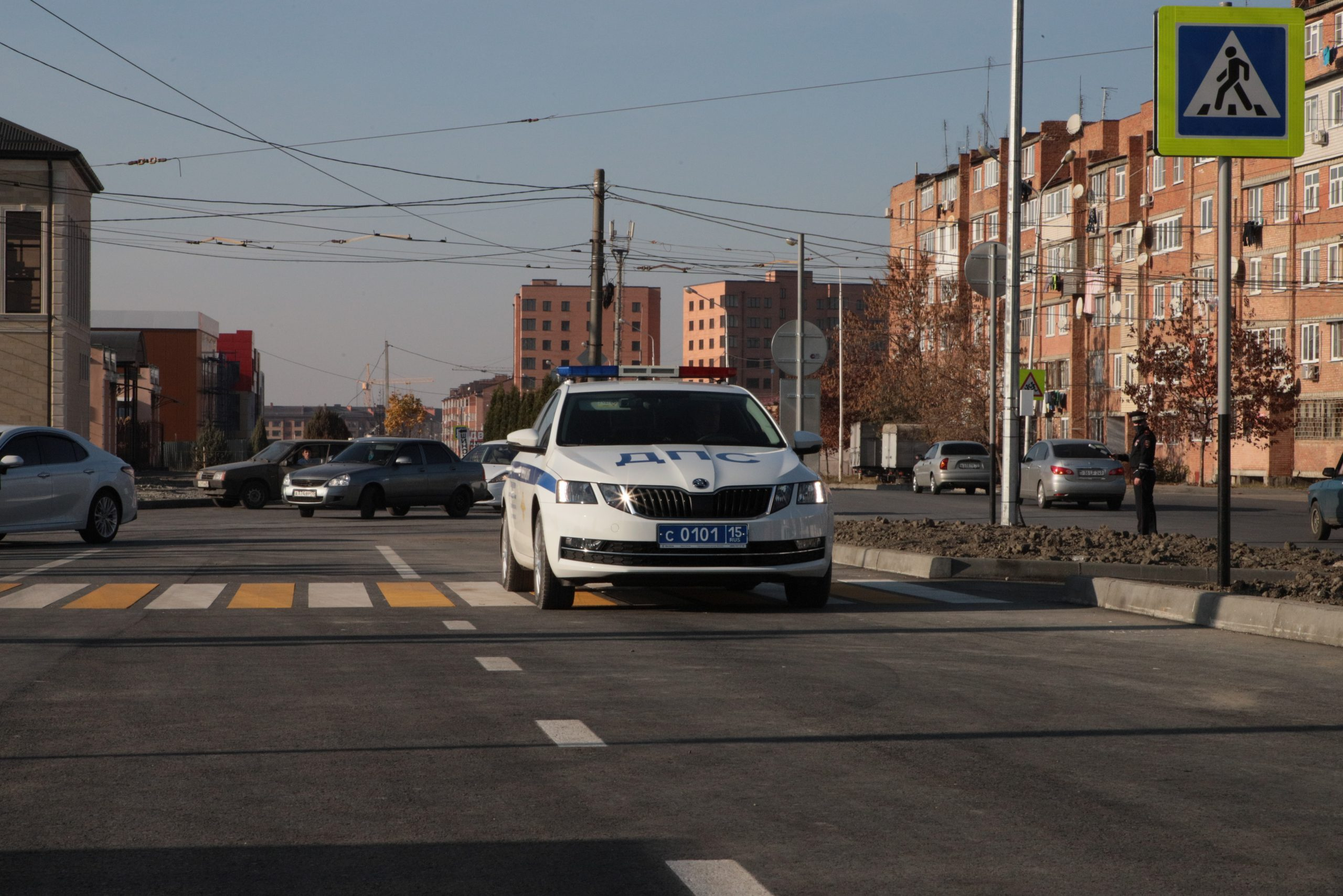Во Владикавказе завершена реконструкция ул.Весенней
