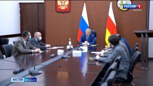 Вячеслав Битаров принял участие в совещании вице-премьера РФ Дмитрия Чернышенко