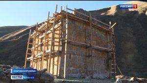 В Алагирском районе началась реконструкция Зругского храма