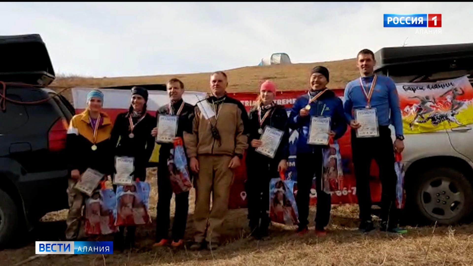 В Северной Осетии прошли соревнования по скайраннингу