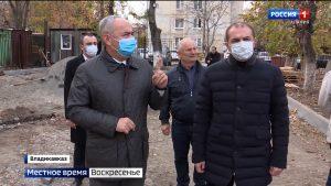 Таймураз Тускаев вновь проинспектировал стройплощадки социально значимых объектов