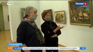 В Национальной научной библиотеке открылась персональная  выставка Константина Кокаева