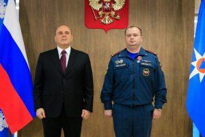 Огнеборцы Северной Осетии награждены медалями «За отвагу на пожаре»