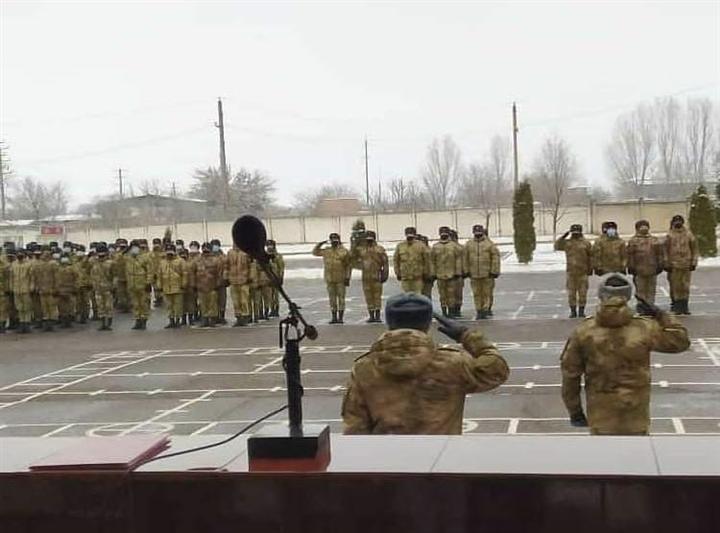 27-ю годовщину со дня образования отметила воинская часть Росгвардии в Моздоке