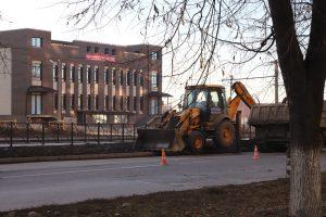 Во Владикавказе продолжается реконструкция улицы Весенней