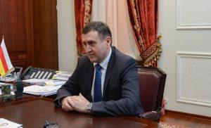 Вячеслав Битаров провел рабочую встречу с врио министра природных ресурсов и экологии