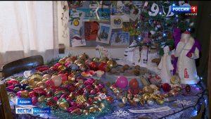 В Ардоне открылась выставка старых новогодних игрушек