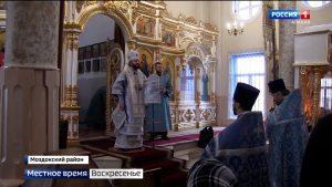 Архиепископ Владикавказский и Аланский Леонид посетил Моздокский район
