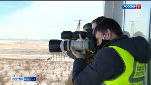 Авиафотографы из разных регионов страны провели споттинг в аэропорту «Владикавказ»