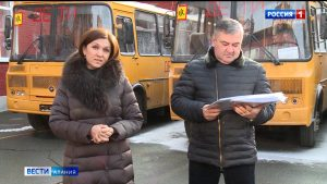 Девять школ Северной Осетии получили новые автобусы