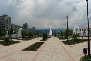 Во Владикавказе благоустроят Площадь фонтанов