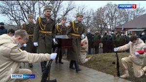 Вернулся на Родину: останки красноармейца Бимболата Ходова предали земле в Старом Батако