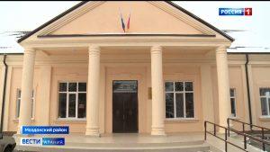 В Моздокском районе продолжается возведение и реконструкция социально важных объектов