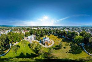 В Алагире выбирают варианты благоустройства парка Свято-Знаменского Собора