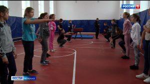 В шести сельских школах республики в этом году капитально отремонтировали спортзалы