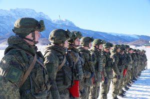 На российской военной базе в Южной Осетии началась подготовка к Армейским международным играм