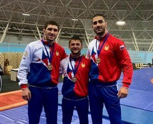 Азамат Тускаев и Заурбек Сидаков стали чемпионами Северной Осетии по вольной борьбе