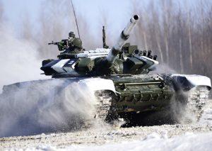 Танкисты ЮВО в Южной Осетии уничтожили мишени, имитирующие заминированный автомобиль