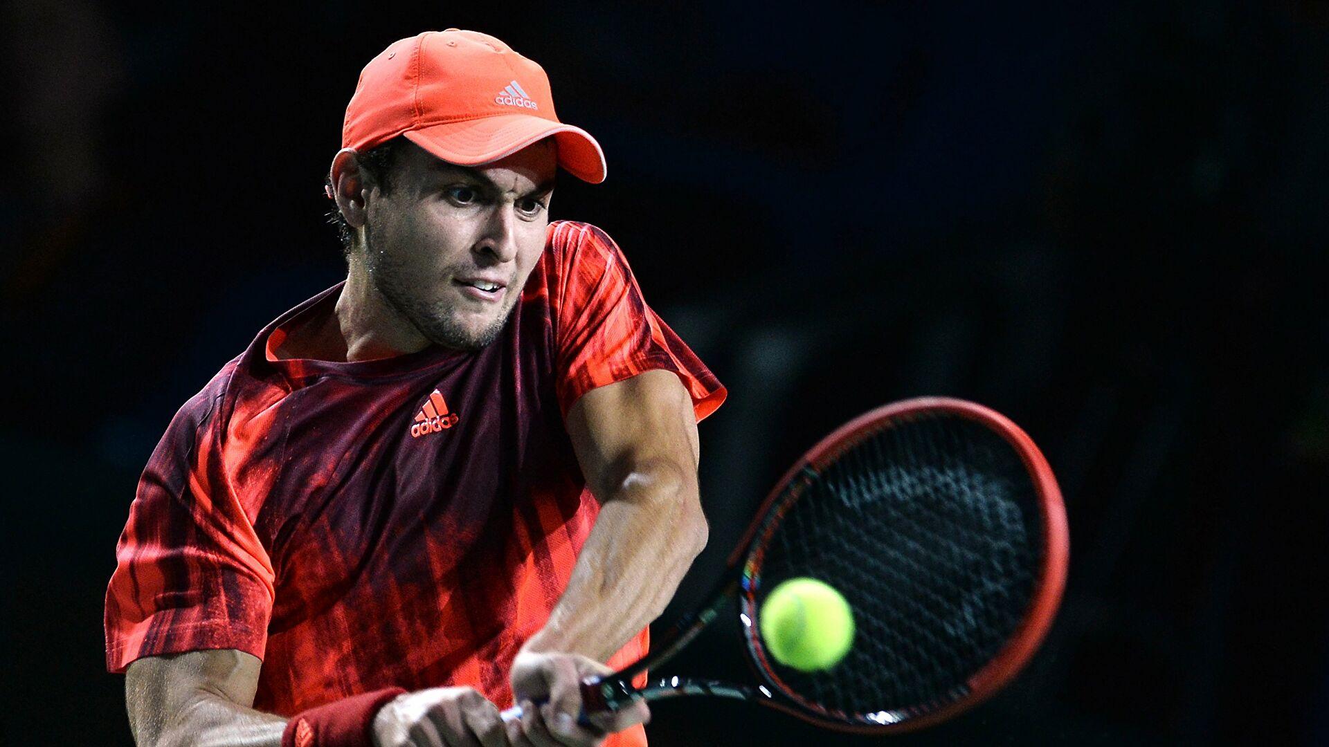 Теннисист Аслан Карацев впервые вышел в основную сетку «Большого шлема»