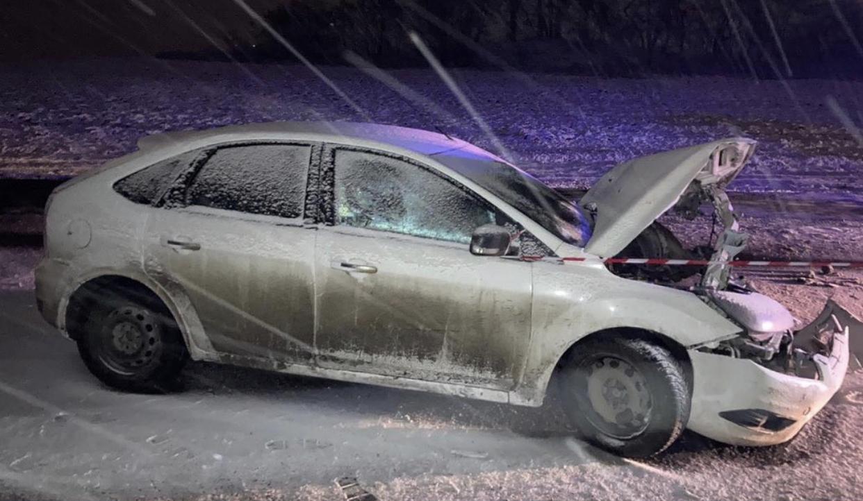 В Северной Осетии легковушка столкнулась с грузовиком