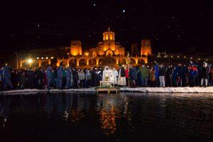 Работа Константина Фарниева признана «Самой эпичной фотографией освящения вод на Крещение Господне»