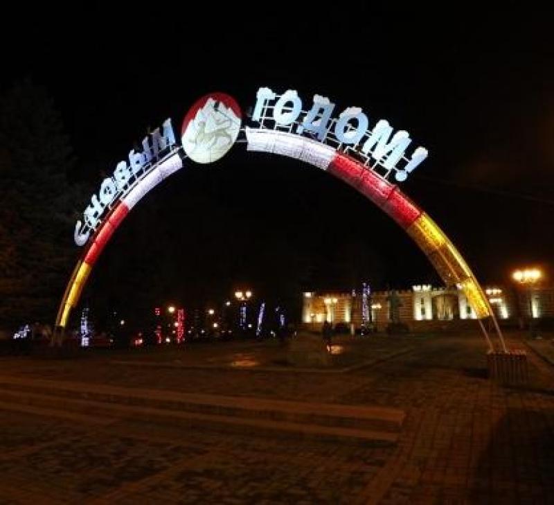 Новогодние мероприятия в Северной Осетии прошли без происшествий — МВД