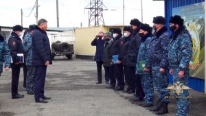 Михаил Скоков встретился с сотрудниками ФКПП «Чермен»