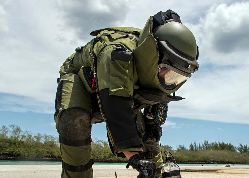 На месте обнаружения снаряда времен Великой Отечественной войны во Владикавказе работают саперы