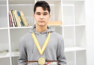 Моздокский кванторианец одержал победу на турнире Georgievsk Open-2021