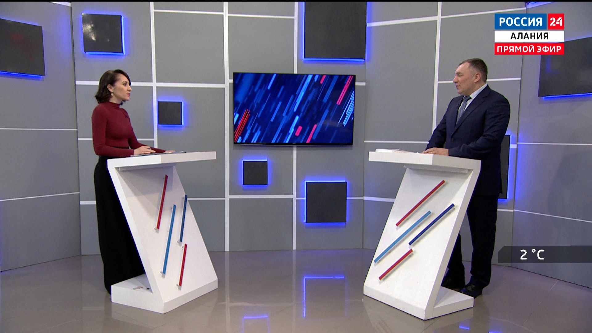 Россия 24. Работа Владикавказского научного центра РАН