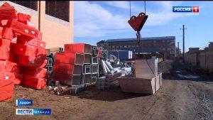 В Ардоне продолжается строительство спортивно-оздоровительного комплекса