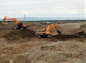 Минприроды Северной Осетии продолжает укрепление берегов на малых реках Алагирского района