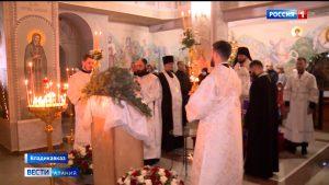 В Северной Осетии отмечают Рождество Христово