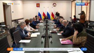 Первый вице-премьер Ахсарбек Сабаткоев встретился с представителями хлебопекарной отрасли