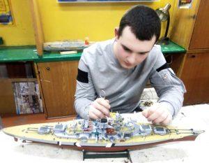 Юные судомоделисты Владикавказа готовятся к конкурсу-выставке