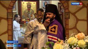 Архиепископ Леонид провел праздничное богослужение в храме Иоанна Воина